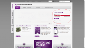 First-midwest-bank-login-steps