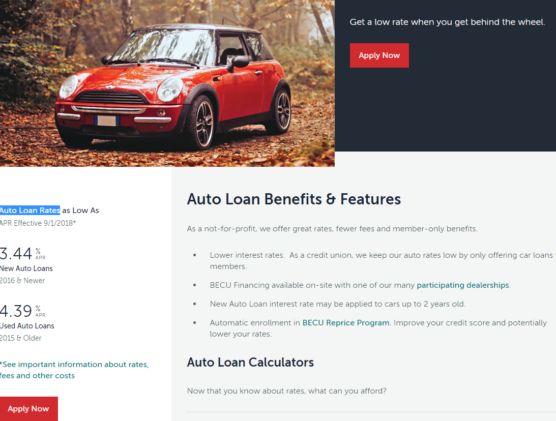 Becu Auto Loan >> How To Apply Becu Auto Loan Online Banking Information Guide