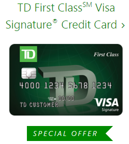 TD-FirstClassSM-Visa-SignatureCredit-Card